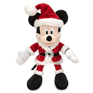 Mickey Mouse Mini Bean Bag Plush - Holiday - 9