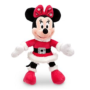 Minnie Mouse Mini Bean Bag Plush - Holiday - 10''