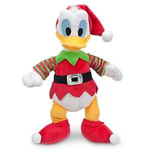 Donald Duck Mini Bean Bag Plush - Holiday - 9