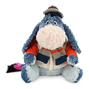 Eeyore Plush - Holiday Special Edition - Medium - 12