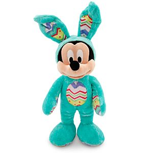 Mickey Mouse Plush Bunny - Medium - 14