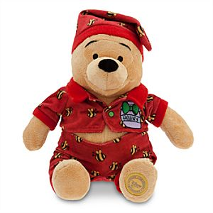 Winnie the Pooh Plush - Holiday Pajamas - 12