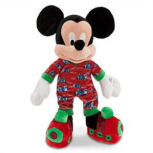 Mickey Mouse Plush - Holiday Pajamas - 16