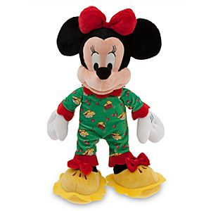 Minnie Mouse Plush - Holiday Pajamas - 16