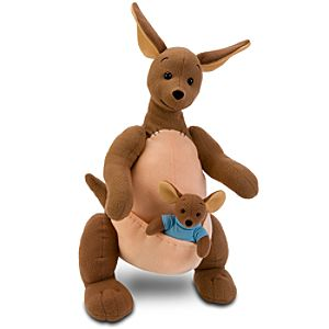 Movie Edition Kanga and Roo Plush Toy Set -- 17 H