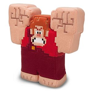 Ralph Pixilated Plush - Wreck-It Ralph - 11
