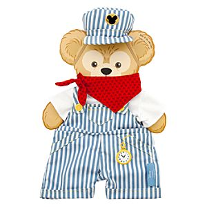 Duffy the Disney Bear Train Engineer Costume - 17