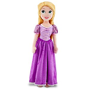 Plush Rapunzel Doll -- 19'' H