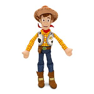 Sheriff Woody Plush Toy -- 18 H