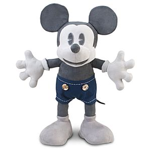 Mickey Mouse Plush Toy - 25th Anniversary - 18 D23 Exclusive