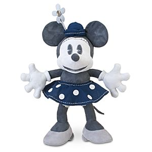 D23 Exclusive 25th Anniversary Minnie Mouse Plush Toy -- 19 H