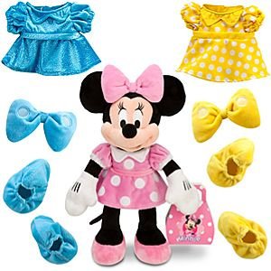Dress Up Minnie Mouse Plush -- 14 H