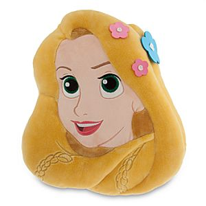 Rapunzel Plush Head Cushion Pillow