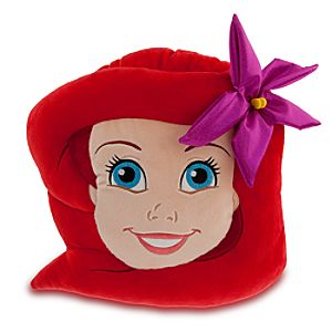 Ariel Plush Head Cushion Pillow