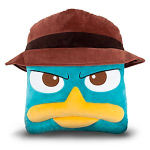 Agent P Plush Head Cushion Pillow