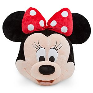 Minnie Mouse Plush Pillow - Red - 16
