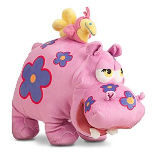 ''it's a small world'' Hippo Plush - 11''