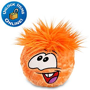 Club Penguin Orange Pet Puffle -- 6 H