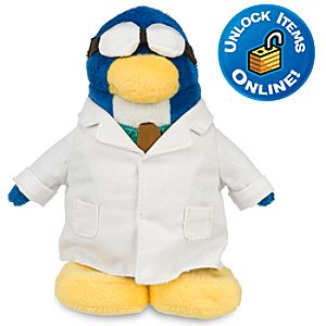 Club Penguin 9 Limited Edition Penguin Plush -- Gary the Gadget Guy