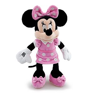 Wonder Disney Store Scented Minnie Mouse Plush Toy -- 12 H