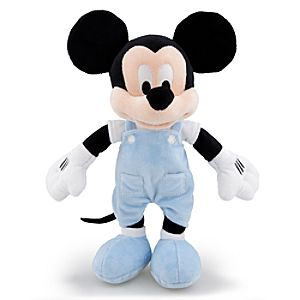 Wonder Disney Store Scented Mickey Mouse Plush Toy -- 12 H