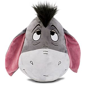Eeyore Plush Head Cushion Pillow -- 16 H