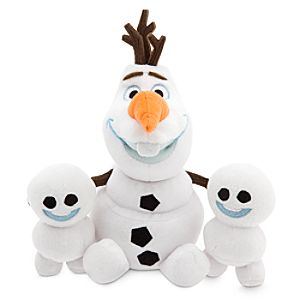 Olaf and Snowgies Plush Bundle - Mini Bean Bag - 8 - Frozen Fever
