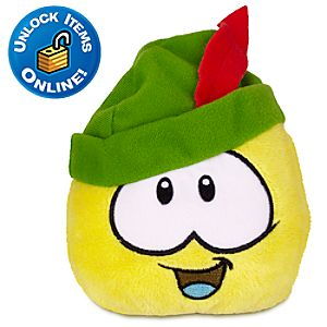Club Penguin Sherwood Yellow Pet Puffle Plush - 4