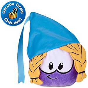 Club Penguin Princess Purple Pet Puffle Plush -- 4 H
