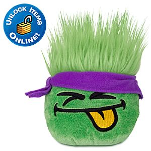 Club Penguin Green Pet Puffle Plush -- 4 H
