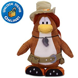 Club Penguin PH the Puffle Handler Penguin Plush Toy -- 6 H