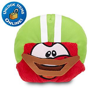 Club Penguin Red Pet Puffle Plush with Touchdown Dome -- 4 H