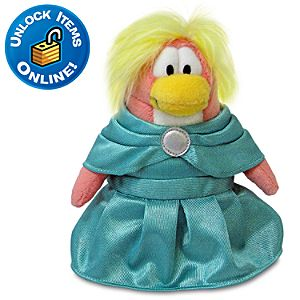 Club Penguin Prom Girl Limited Edition Penguin Plush Toy -- 6 H