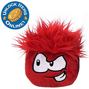 Club Penguin 3 Red Pet Puffle