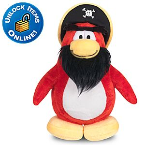 Club Penguin Rockhopper Penguin Plush Toy -- 6 H