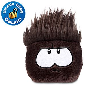 Club Penguin Black Pet Puffle -- 3 H