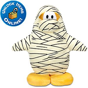 Club Penguin Mummy Penguin Plush Toy -- 6