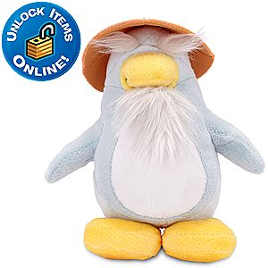 Club Penguin Sensei Penguin Plush Toy -- 6
