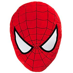 Spider-Man Plush Head Cushion Pillow -- 18 H