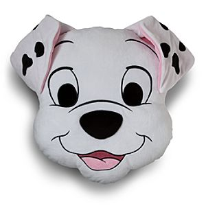 Rolly Plush Head Cushion Pillow - 101 Dalmatians