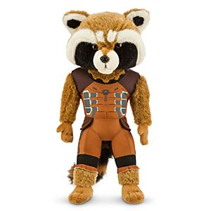Rocket Plush - Marvels Guardians of the Galaxy - Medium - 15