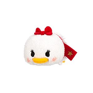 Daisy Duck Tsum Tsum Plush - Holiday - Mini - 3 1/2