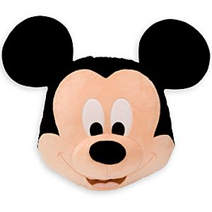 Mickey Mouse Plush Pillow - 16