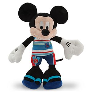 Mickey Mouse Plush - Summer Fun - Medium - 17