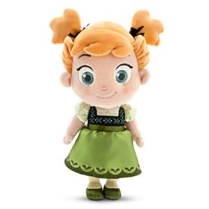 Toddler Anna Plush Doll - Small - 13 - Frozen