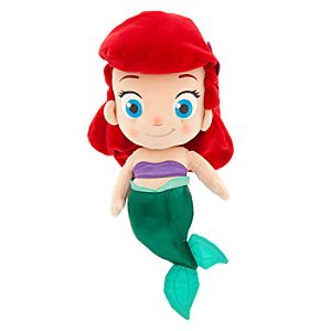 Toddler Ariel Plush Doll - Small - 14