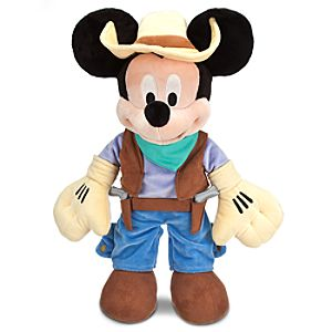 The Mickey Mouse Club: Talent Round-Up Day Mickey Mouse Plush Toy -- 17 H