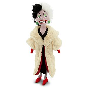 Cruella De Vil Plush Doll - 21""