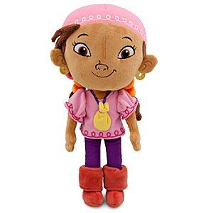 Jake and the Never Land Pirates Izzy Plush -- 11 H