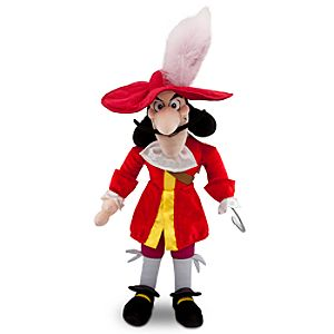 Peter Pan: Captain Hook Plush -- 19 H